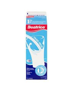 Beatrice Milk 1% 1L