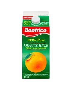 Beatrice Orange Juice 1.75L