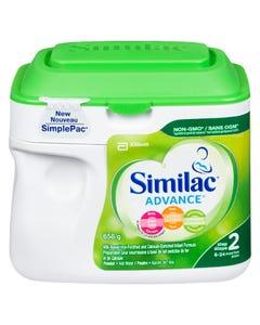 Similac Advance Step 2 Infant Formula 658G