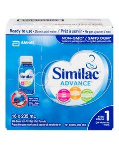 Similac Advance Step 1 Ready To Use 16X235ML