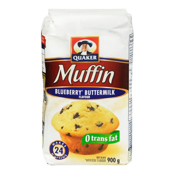 Quaker Muffin Mix Blueberry Buttermilk 900g