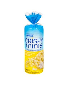 Quaker Crispy Minis Rice Cakes Butter Popcorn 127g