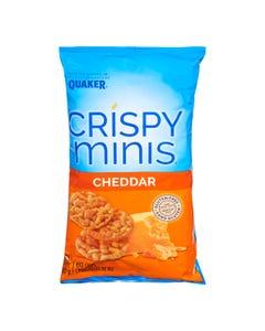 Quaker Crispy Minis Rice Chips Cheddar 100g