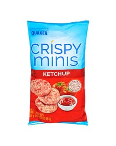 Quaker Crispy Minis Rice Chips Ketchup 100g