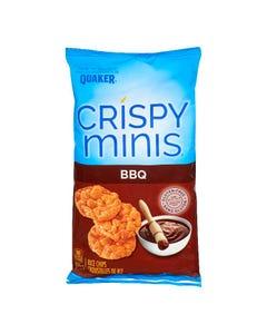 Quaker Crispy Minis Rice Chips BBQ 100g