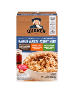 Quaker Instant Oatmeal Variety 8ct 314g