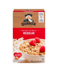 Quaker Instant Oatmeal Regular 280g