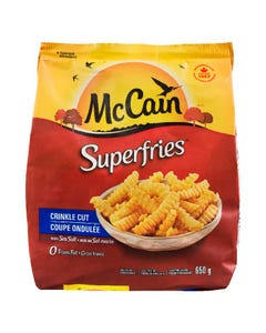 Mccain Superfries Coupe Ondulée 650G