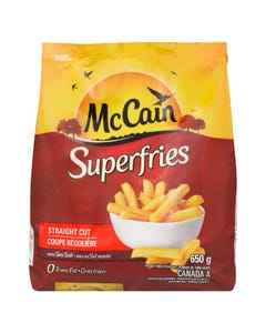 McCain Superfries Straight Cut 650g