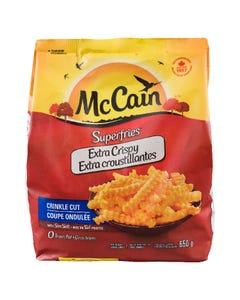 McCain Superfries Extra Crispy Crinkle Cut 650G