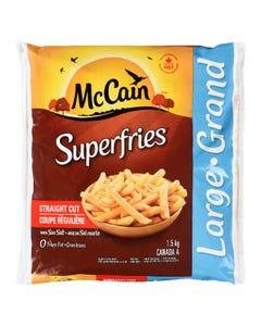 McCain Superfries Straight Cut 1.5KG