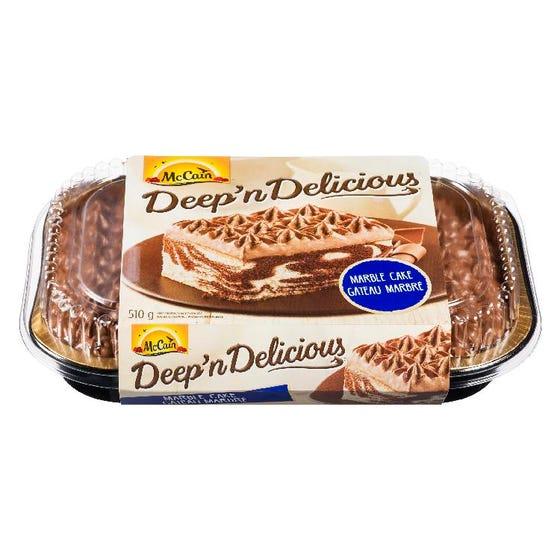 McCain Deep 'n Delicious Marble Cake 510G