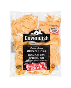 Cavendish Onion Rings 1kg