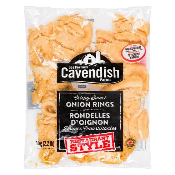 Cavendish Onion Rings 1kg