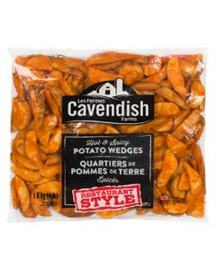 Cavendish Hot & Spicy Potato Wedges 1.8kg