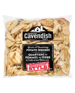 Cavendish Garlic & Rosemary Potato Wedges 1.8KG