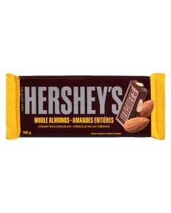 Hershey's Whole Almonds Creamy Milk Chocolate 100G