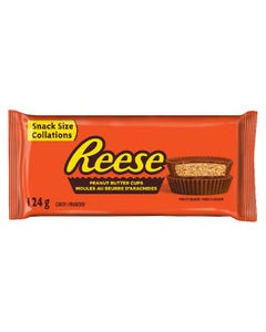 Reese Peanut Butter Cups Snack Size 124G