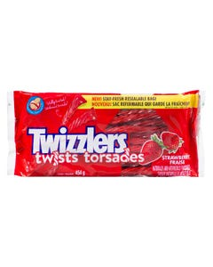 Twizzlers Twists Strawberry 454g
