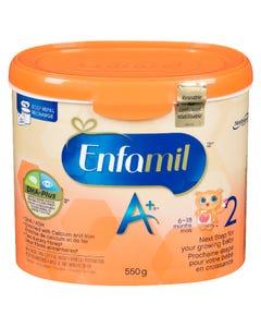 Enfamil A+ Stage 2 Powder Tub 550g