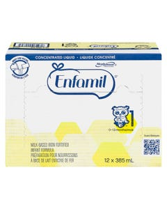 Enfamil with Iron Liquid Concentrate 12x385ml
