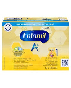 Enfamil A+ Étape 1 DHA Concentré Liquide 12x385ML