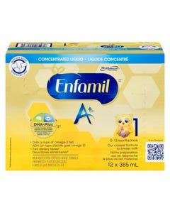 Enfamil A+ Liquid Concentrate 12x385ml