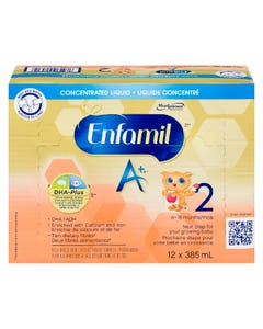 Enfamil A+ Stage 2 DHA Concentrated Liquid 12x385ml