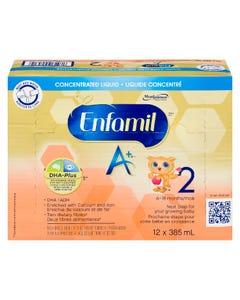 Enfamil A+ Liquide Concentré 6-18 Mois 12X385ML