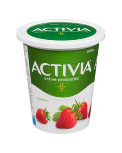 Activia Yogurt Strawberry 650G