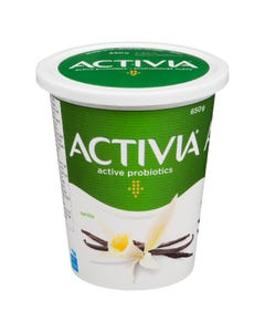 Activia Yogurt Vanilla 650G