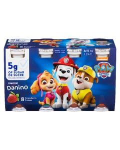 Danino Drinkable Yogurt Strawberry 8X93ML