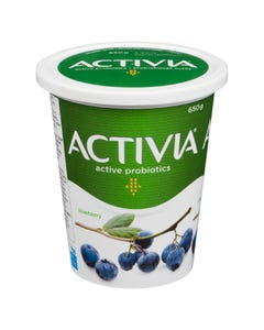 Activia Yogurt Blueberry 650G
