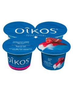 Oikos Greek Yogurt Raspberry Pomegranate 4X100G