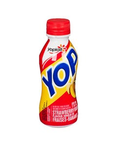 Yop Yogurt Drink Strawberry Banana 200ml