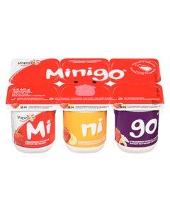 Yoplait Minigo Strawberry / Strawberry-Banana / Strawberry Vanilla 6X60G