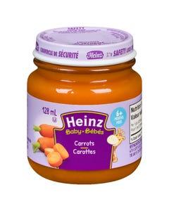 Heinz Bébés Purée Carottes en Pot 128ML
