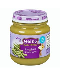 Heinz Bébés Purée Haricots Verts en Pot 128ML
