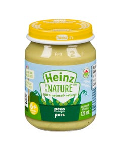 Heinz By Nature Peas 128ML