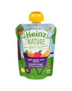 Heinz By Nature Apple, Squash, Carrot & Prune 128ML