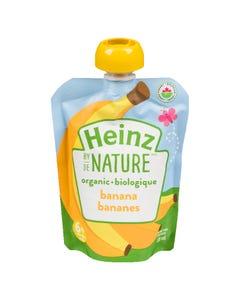 Heinz By Nature Organic Banana 128ML