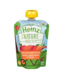 Heinz By Nature Apple, Sweet Potato & Carrot 128ML