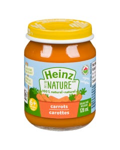 Heinz By Nature Carrots 128ML