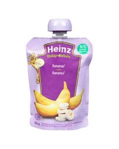 Heinz Bébés Purée Bananes en Sachet 128ML