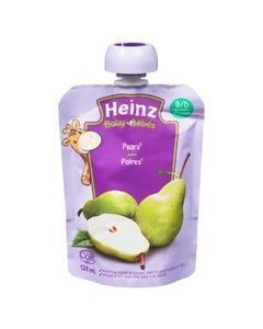 Heinz Pear Pouch 128ml