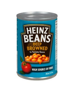 Heinz Beans Deep Browned in Tomato Sauce 398ml