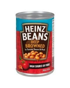 Heinz Beans Deep Browned in Tomato Sauce & Pork 398ml