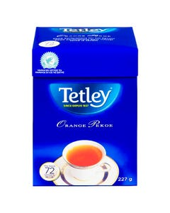 Tetley Thé Orange Pekoe 72'S