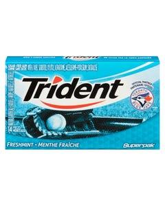 Trident Freshmint Gum 14CT