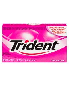 Trident Bubble Gum 14CT